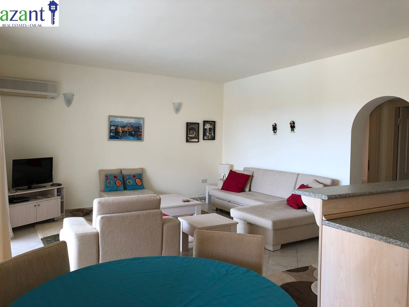 2 Bedroom apartment in Lapta with stunning views