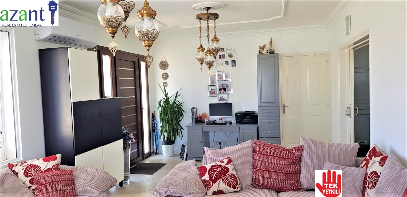BEAUTIFUL 3 BEDROOM VILLA WITH POOL IN 1.5 DONUM PLOT IN ALSANCAK
