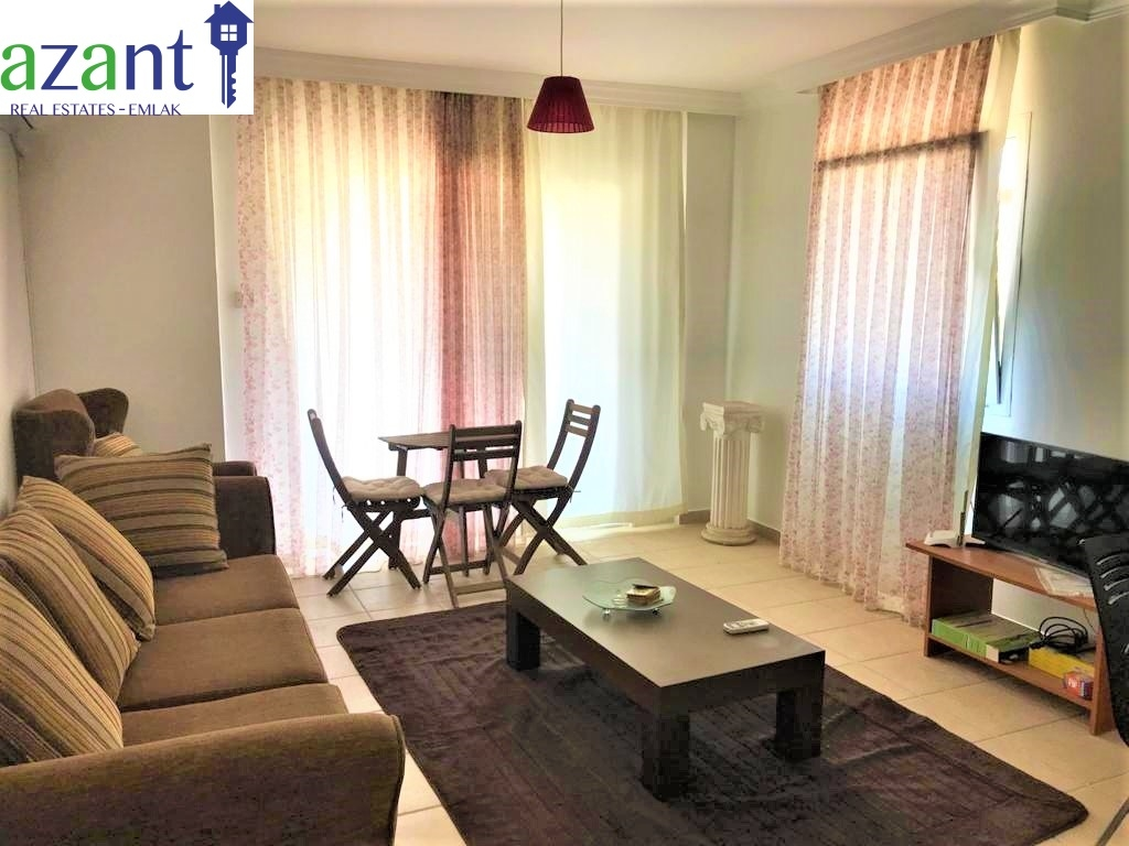 TO RENT, 1+1 APARTMENT IN GİRNE